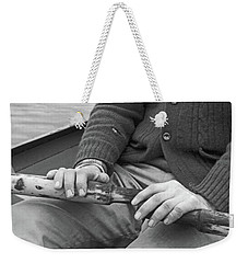 Weekender Tote Bag featuring the photograph Paul by Laurie Stewart