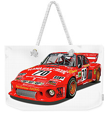 Paul Newman Porsche 935 Weekender Tote Bag