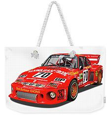 Paul Newman Porsche 935 Weekender Tote Bag