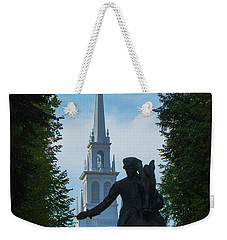 Paul Revere Old North Church Boston Weekender Tote Bag