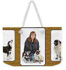 Paula Marshburn  03 Weekender Tote Bag by M K  Miller
