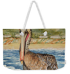 Paula's Pelican Weekender Tote Bag by Katherine Young-Beck