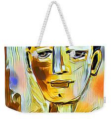 Pauls Portrait Weekender Tote Bag by Elaine Lanoue