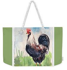 Paunchy Rooster Weekender Tote Bag