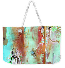 Pause In The Reconstruction Of Doubt  Weekender Tote Bag