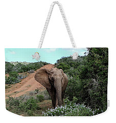 Pause To Smell The Flowers Weekender Tote Bag