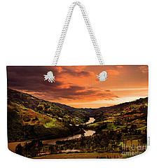 Paute River II Weekender Tote Bag