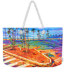 Paved Paradise Weekender Tote Bag by Bonnie Lambert