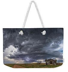 Pawnee School Storm Weekender Tote Bag by Darren White