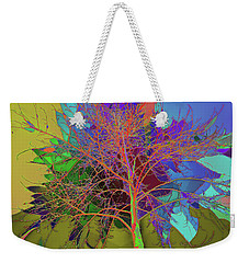P C C Elm In The Wait Of Bloom Weekender Tote Bag