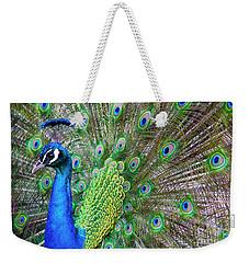 Peacock Weekender Tote Bag