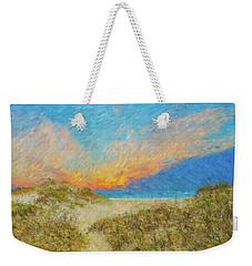 Pea Island Beach Weekender Tote Bag