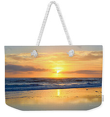 Weekender Tote Bag featuring the photograph Pea Island In November by Barbara Ann Bell