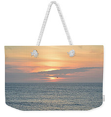 Weekender Tote Bag featuring the photograph Pea Island Sunrise by Barbara Ann Bell