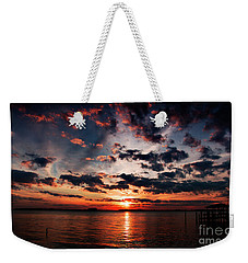 Peace Along The River Weekender Tote Bag