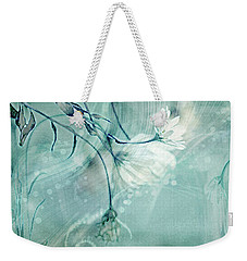 Weekender Tote Bag featuring the photograph Peace And Harmony by Linda Sannuti
