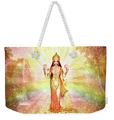 Peace And Prosperity On Earth Weekender Tote Bag