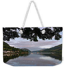 Peace And Serenity Weekender Tote Bag by Lynn Bolt