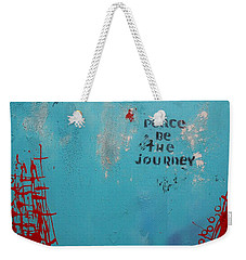 Peace Be The Journey Weekender Tote Bag