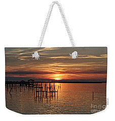 Peace Be With You Weekender Tote Bag by Roberta Byram
