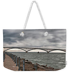Peace Bridge Weekender Tote Bag