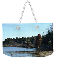 Weekender Tote Bag featuring the photograph Peace by Carol  Bradley