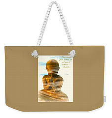 Peace From Within Weekender Tote Bag