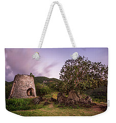 Weekender Tote Bag featuring the photograph Peace Hill Ruins by Adam Romanowicz