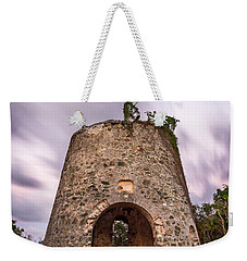 Weekender Tote Bag featuring the photograph Peace Hill Sugar Mill by Adam Romanowicz