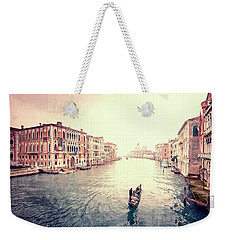 Peace In Venice Weekender Tote Bag