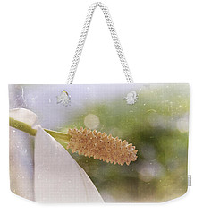 Peace Lily Weekender Tote Bag