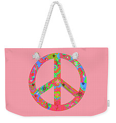 Peace Weekender Tote Bag