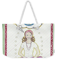 Peace Meditation Weekender Tote Bag