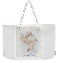 Weekender Tote Bag featuring the photograph Peace On Earth by Diane Alexander