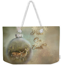 Peace On Earth Weekender Tote Bag