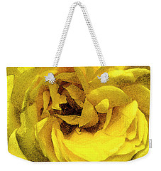 Peace Swirl Weekender Tote Bag by Hazy Apple