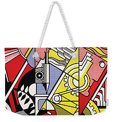 Peace Through Chemistry I Weekender Tote Bag by Roy Lichtenstein