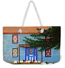 Peaceful Abode Weekender Tote Bag