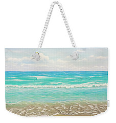 Peaceful Beach Weekender Tote Bag