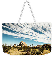 Peaceful Boulder Weekender Tote Bag