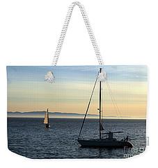 Peaceful Day In Santa Barbara Weekender Tote Bag