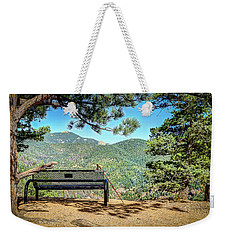 Peaceful Encounter Weekender Tote Bag