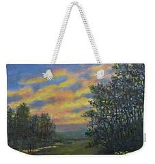 Peaceful Evening Sky Weekender Tote Bag