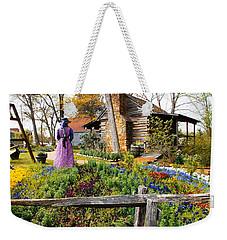 Peaceful Garden Walk Weekender Tote Bag