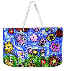 Peaceful Glowing Garden Weekender Tote Bag