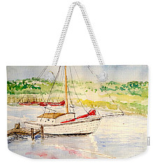 Peaceful Harbor Weekender Tote Bag