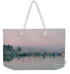 Peaceful Harbor Weekender Tote Bag
