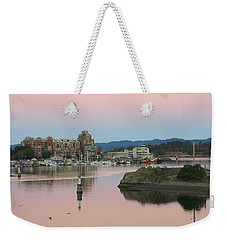 Peaceful Morning Weekender Tote Bag by Betty Buller Whitehead