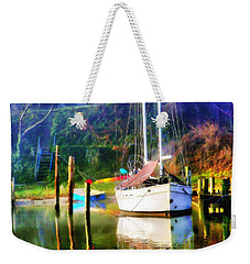 Weekender Tote Bag featuring the photograph Peaceful Morning In The Cove by Brian Wallace