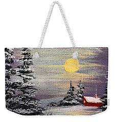 Peaceful Night Weekender Tote Bag